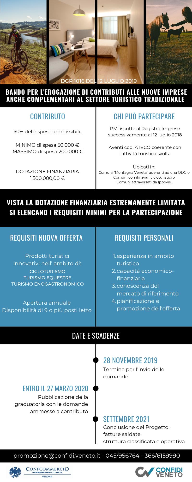 BANDO PER L'EROGAZIONE DI CONTRIBUTI ALLE NUOVE IMPRESE ANCHE COMPLEMENTARI AL SETTORE TURISTICO TRADIZIONALE (1)